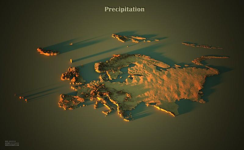 Precipitation in Europe