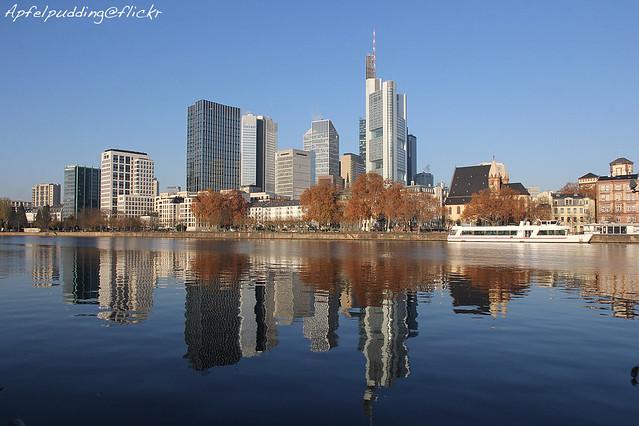 Herbstliches Frankfurt am Main