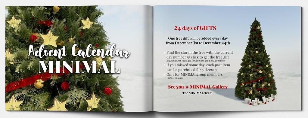 MINIMAL – Advent Calendar 2020