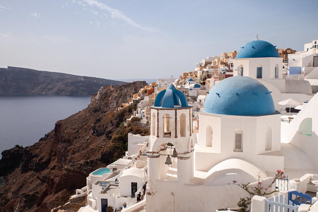 Santorini, Greece, 2020