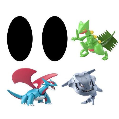 萬代食玩「SHODO 寶可夢」第 5 彈情報公開  蜥蜴王、大鋼蛇等帥氣寶可夢登場!