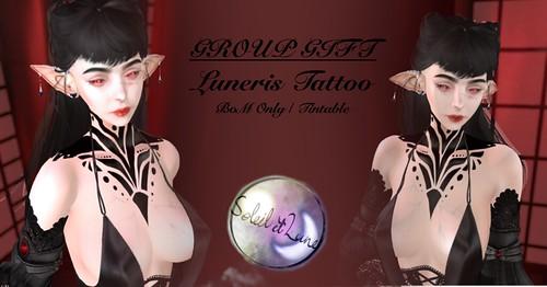 Luneris Tattoo - Soleil et Lune Group Gift