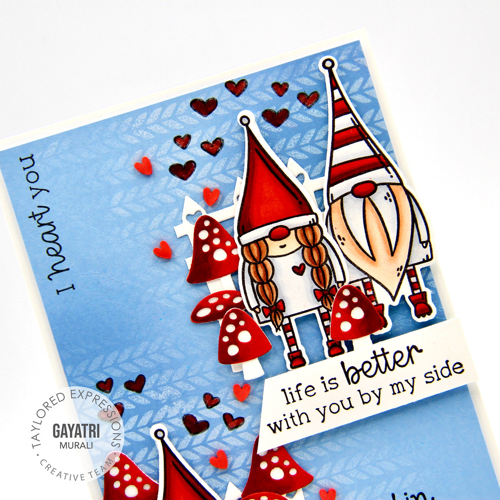 Card #1 closeup