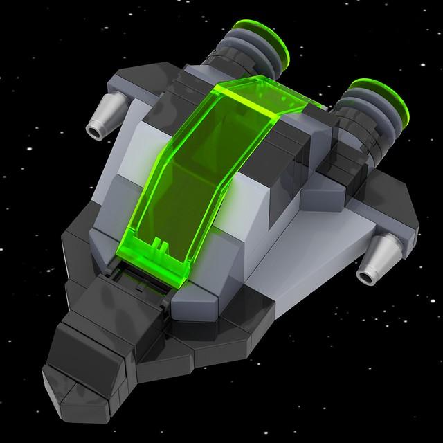 Lego Classic Sci-Fi Fighter (1)