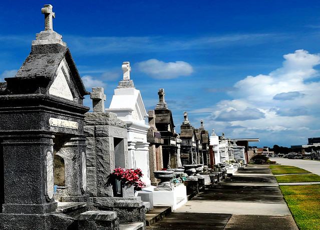 St. Louis Cemetery No. 3.