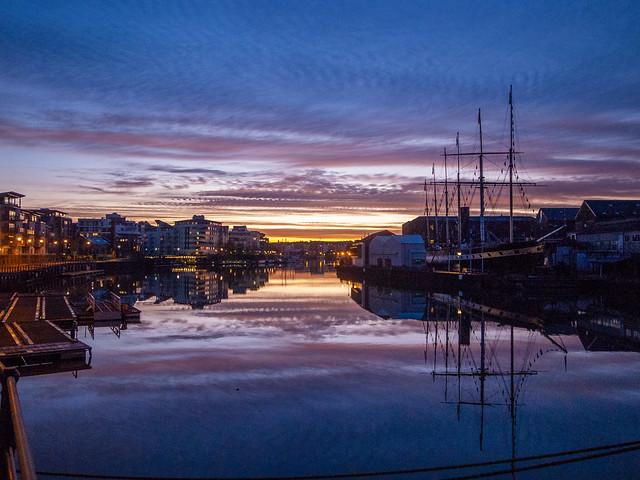 Morning light port 1