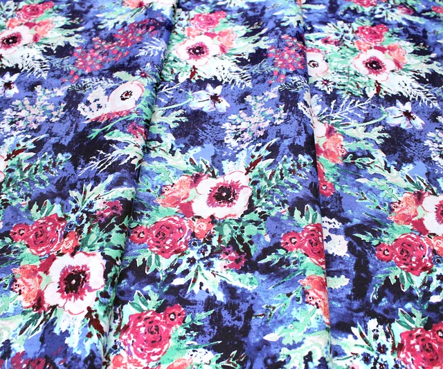 Art Gallery Fabrics Aquarelle Impressionist Wash Crisp