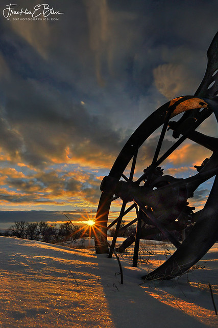 Antique Plow with a View