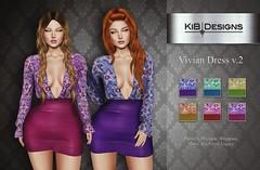 KiB Designs - Vivian Dress v.2 @I SAY NO EVENT (Charity Event- RAINN)