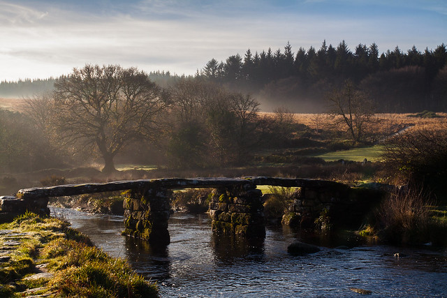 Ye olde clapper bridge