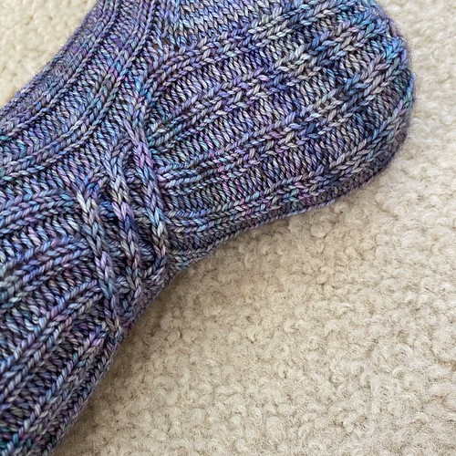 Knotted socks