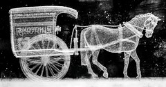 Rington's Crystal Horse Cart