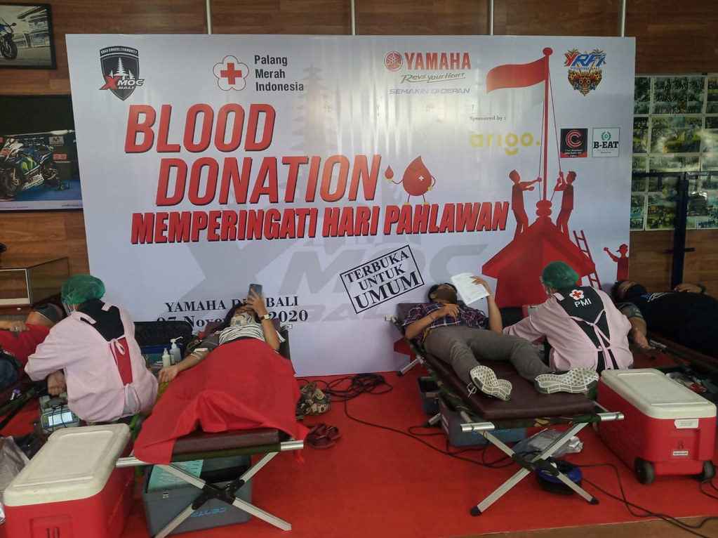 XMAX Bali Donor Darah