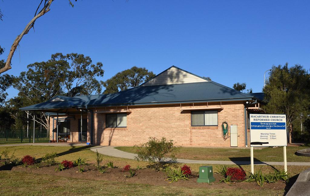 Macarthur Christian Reformed Church, Cobbitty, NSW.