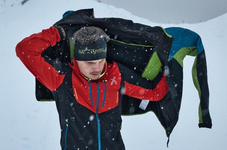Jak funguje oblečení Montura na skialpech...