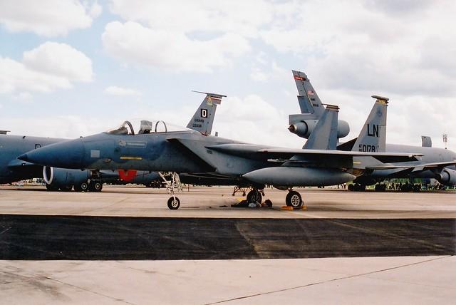 F-15C 86-0178 RAF Fairford 20.07.02