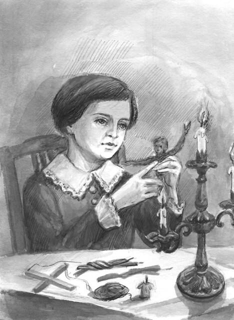 Антонова Наталья Владимировна (г. Чебоксары). Мишель лепит из воска