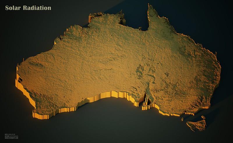 Solar Radiation in Australia