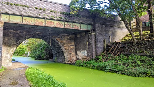 All along the green canal at Preston | by Tony Worrall