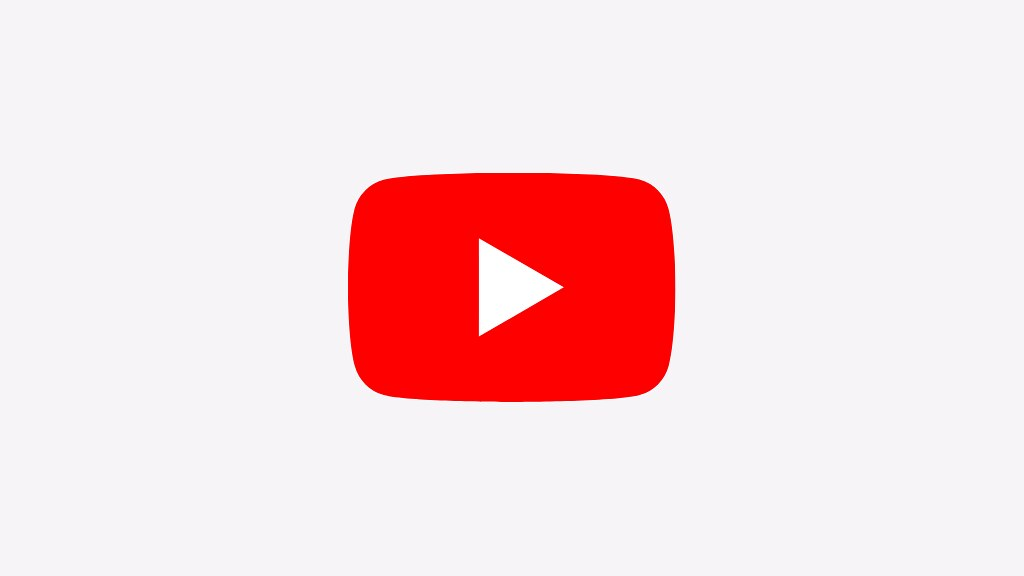 A picture of the YouTube logo
