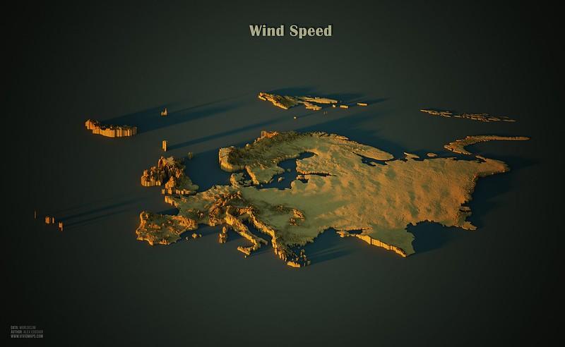 Wind Speed in Europe