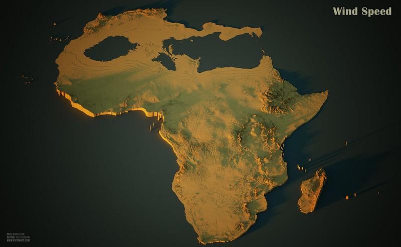 Wind Speed in Africa