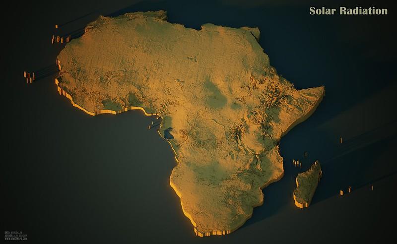 Solar Radiation in Africa