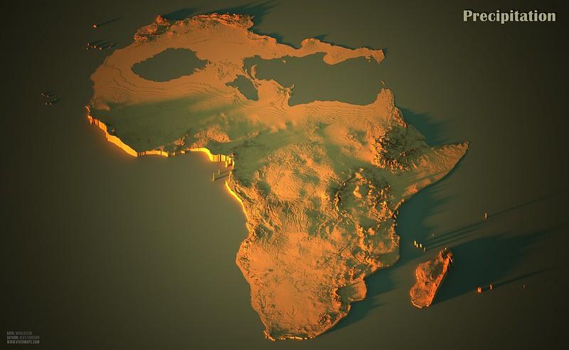 Precipitation in Africa