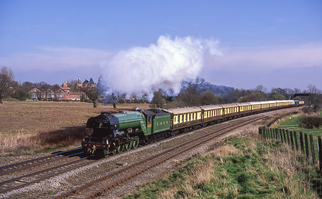 4472 'Flying Scotsman' On Hatton Bank. 27/03/2002.