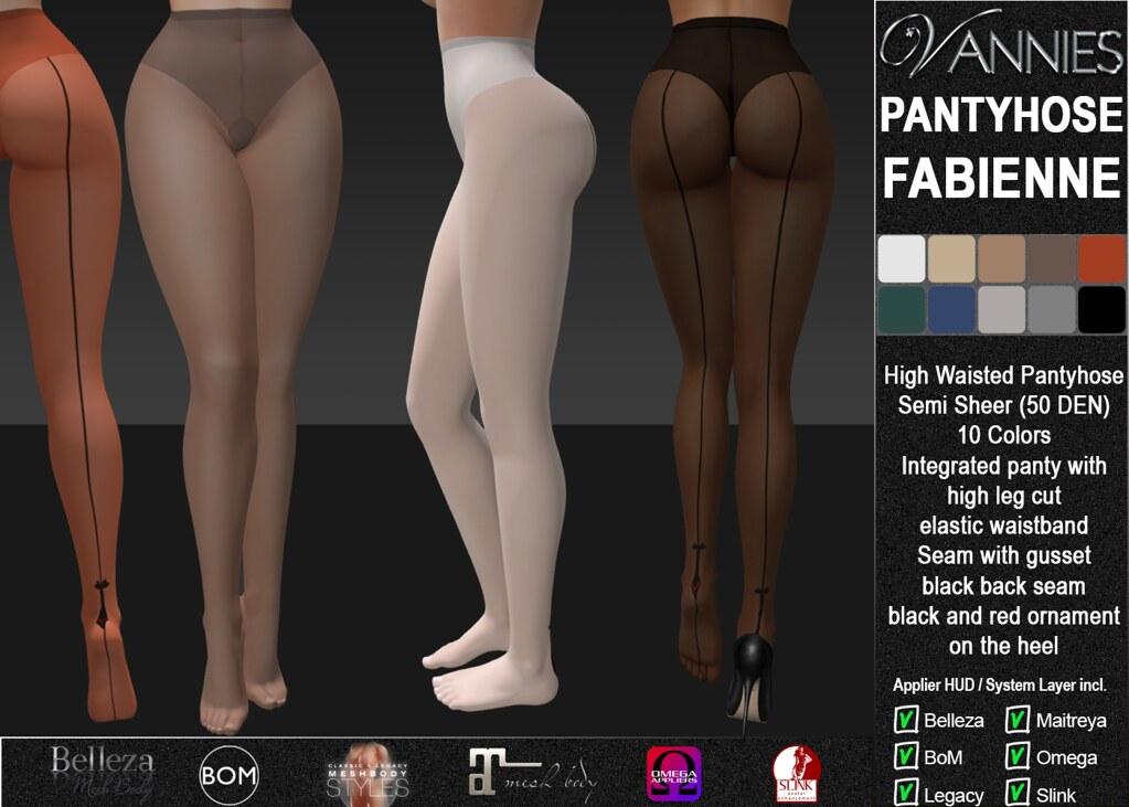 VANNIES Pantyhose Fabienne