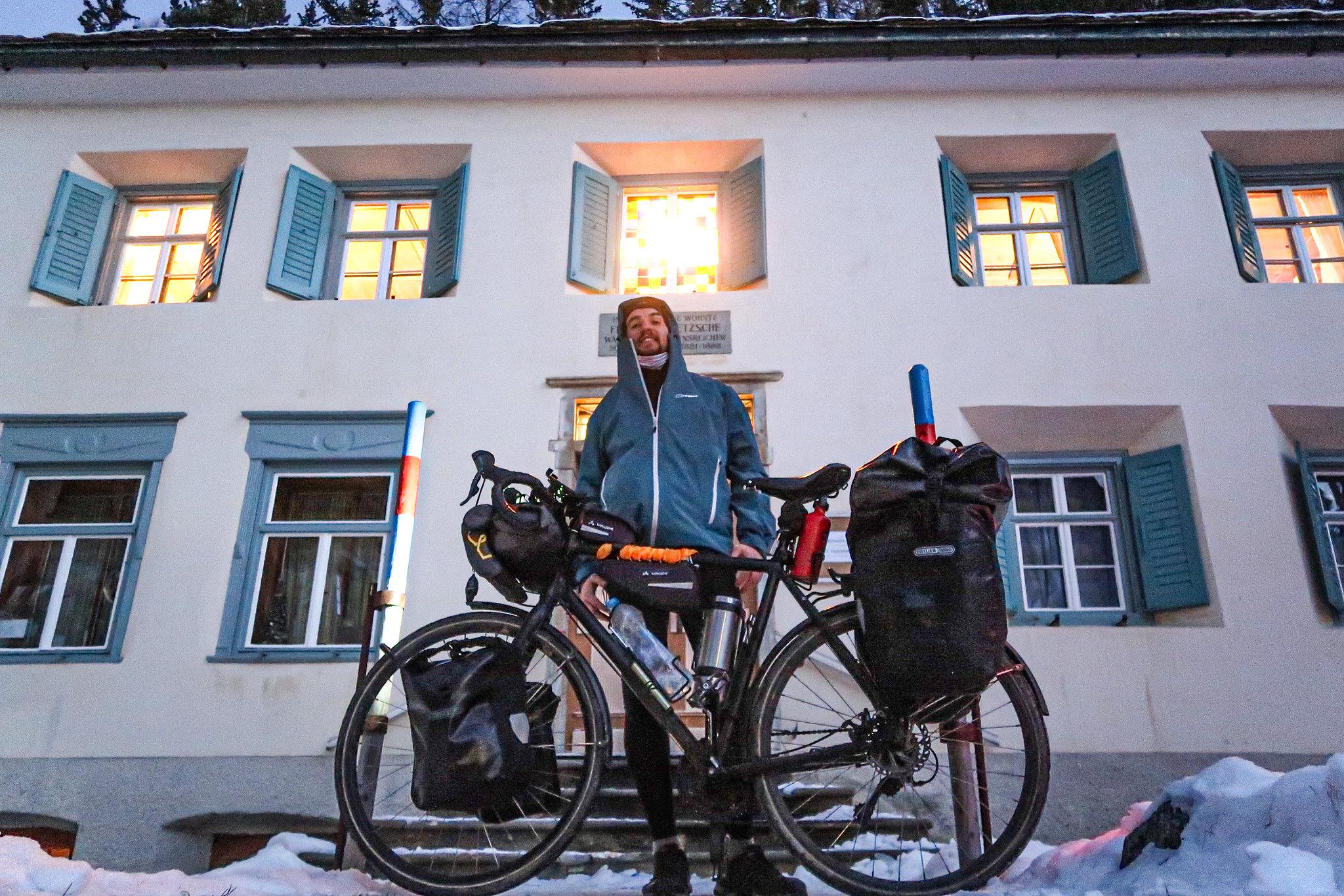 At the Nietzsche Haus