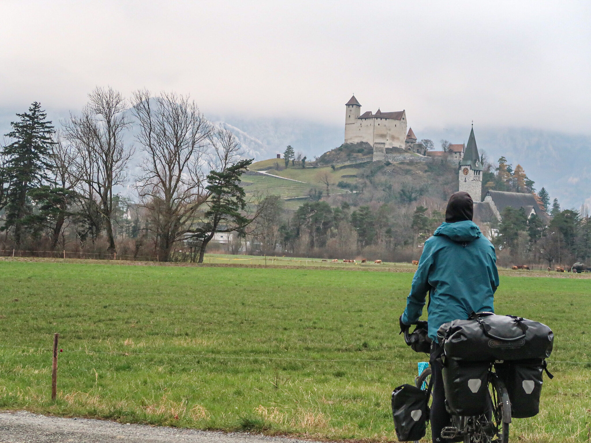 Crossing Liechtenstein