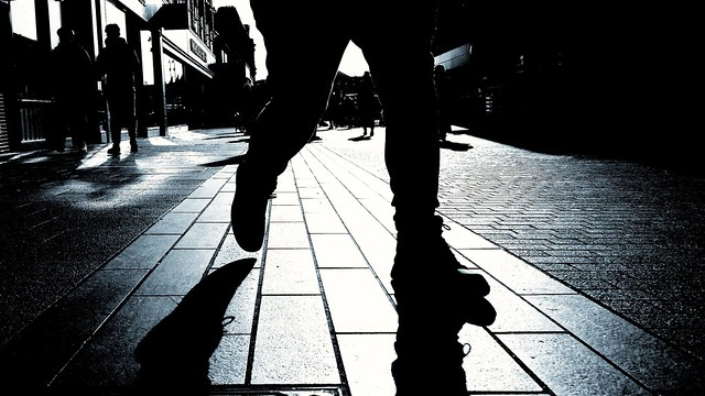 Silhouettes and shadows.....