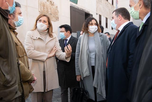 Inauguración de la exposición 'El Prado en las calles' en Toledo