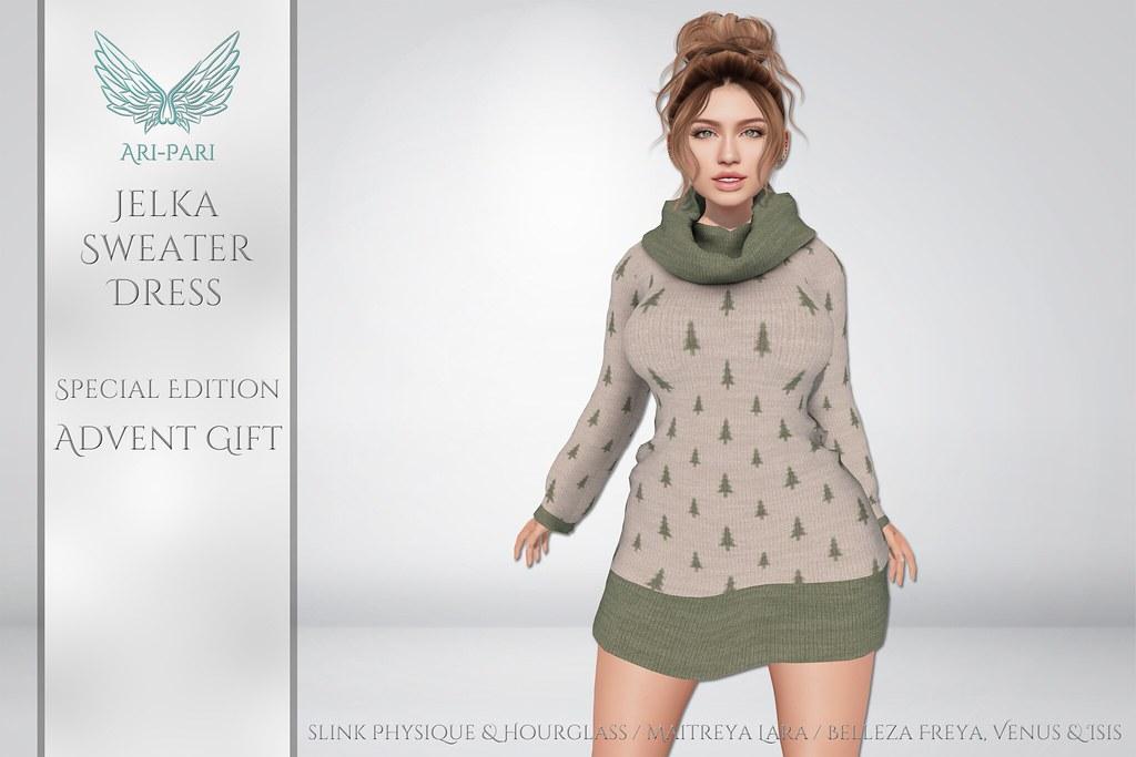 [Ari-Pari] Jelka Dress – Limited Edition