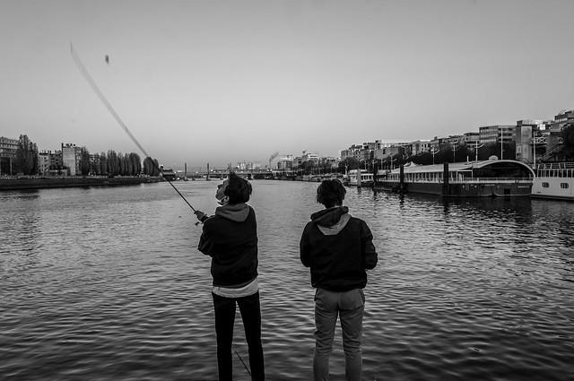 Pêcheurs de Seine