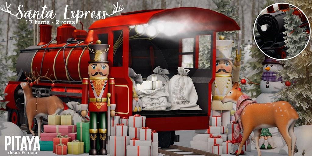 Pitaya - Santa Express@ Arcade