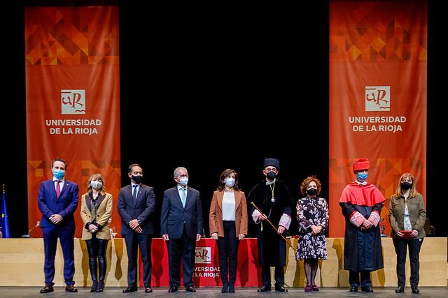 Solemne acto de investidura del Rector Magnífico de la Universidad de La Rioja