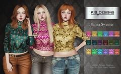 KiB Designs - Sanaa Sweater @I SAY NO EVENT (Charity Event- RAINN)