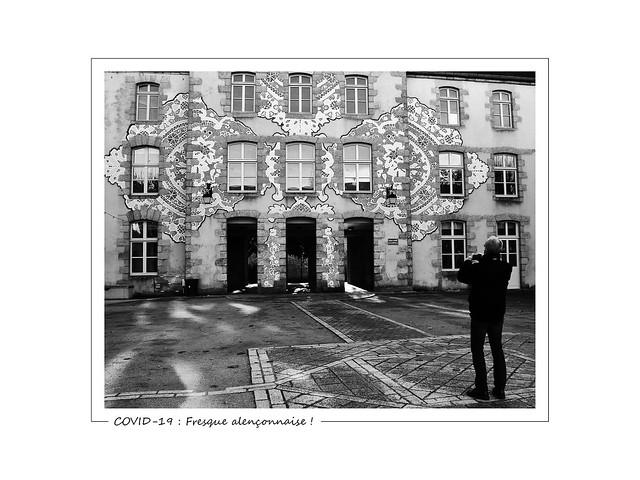 COVID-19 : Fresque alençonnaise !