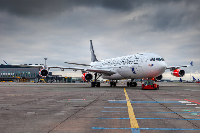 CPH / OY-KBM / Airbus A340-313X SAS Scandinavian Airlines System
