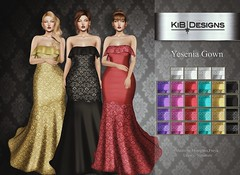 KiB Designs - Yesenia Gown @Designer Showcase