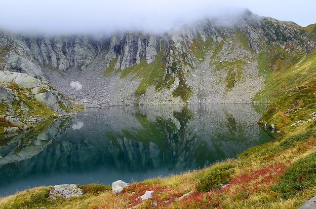 Lago Superiore , 2128 m