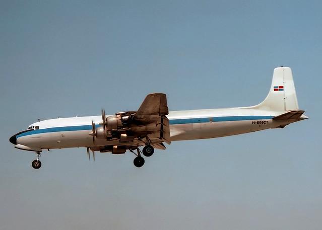 HI-599CT Douglas DC-7C 'Aerochago