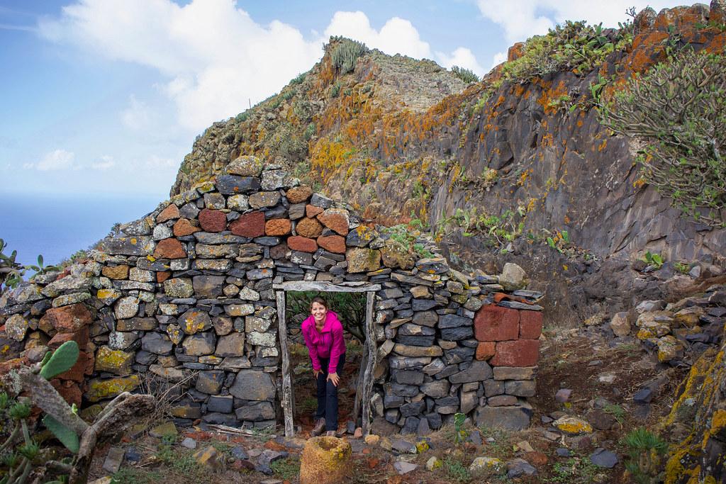 Casa tradicional abandonada en Tenerife