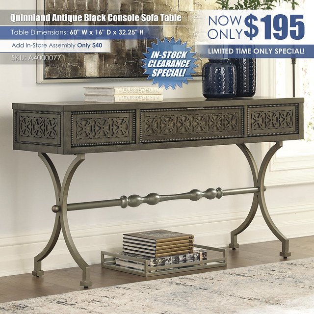 Quinnland Antique Black Console Sofa Table_A4000077_instock