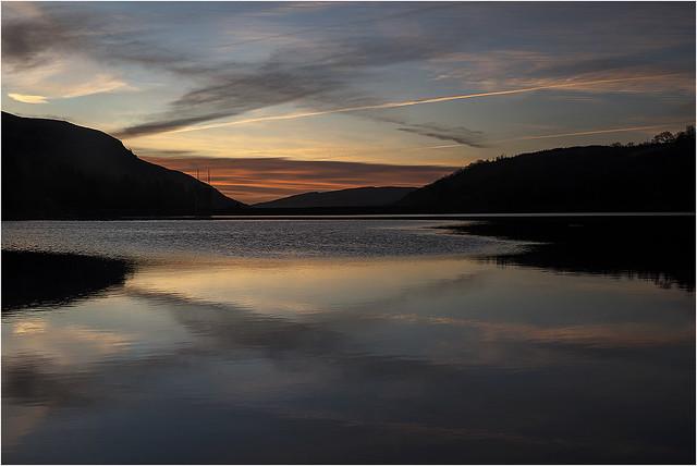 Sunrise Llwyn-on Reseroir 1 12 2020