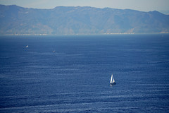 Sailing the Santa Monica Bay