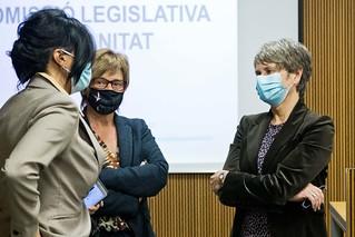Compareixença M.I. Sr. Joan Martínez Benazet davant la Comissió Legislativa de Sanitat. 01/12/2020