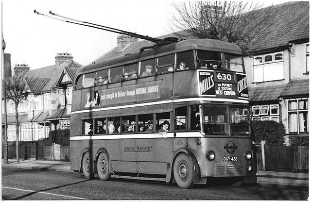 LT trolleybus No. 436